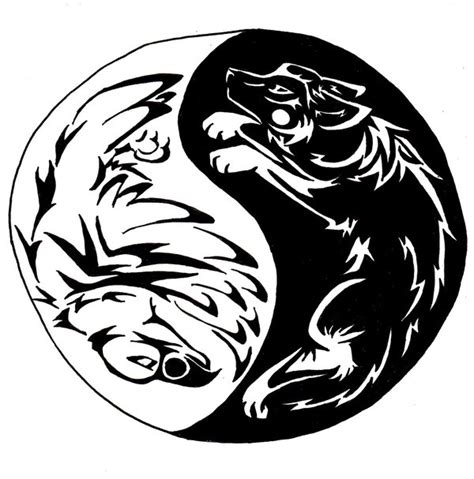 Eagle And Wolf Tattoo By First Nations On Deviantart Eagle And Wolf Tattoos 2