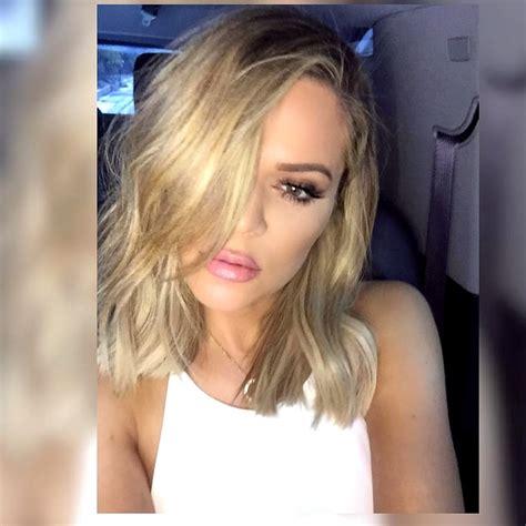 lob hairstyles instagram khloe kardashian s lob celeb stylist jen atkin spills