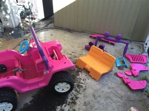 barbie jeep power wheels best 25 barbie power wheels ideas on pinterest power