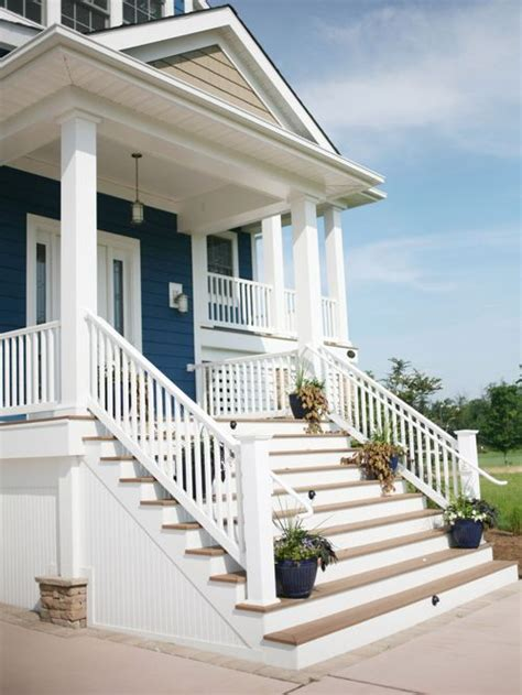 Front House Stairs Design Front Steps Railing Home Design Ideas Pictures Remodel And Decor