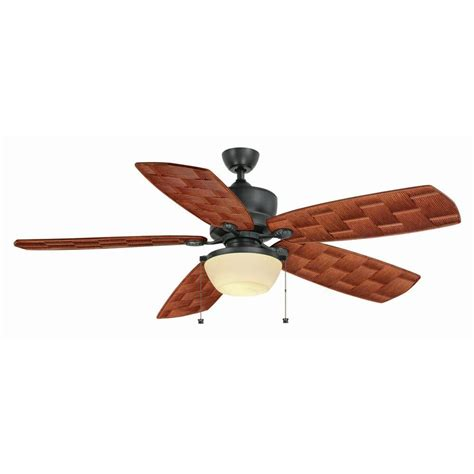 hton bay rocio 60 in indoor outdoor natural iron