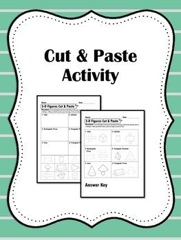 Surface Area And Nets Guided Notes And Activity Pages For