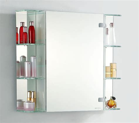 cabinet with mirror door shelves fab glass and mirror stylish single door led mirror
