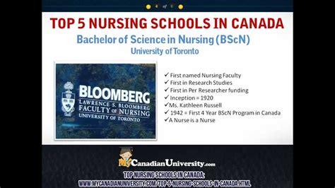 Top Nursing Schools - the best nursing schools in canada of toronto