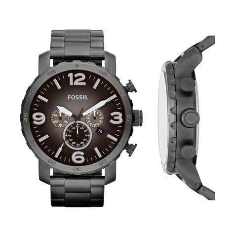 Jam Tangan Fossil Jr 1437 jual fossil nate jr1437 jam tangan pria gun metal