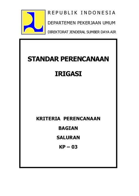 layout jaringan irigasi kp 03 2010 saluran