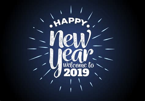 happy  year  background vector illustration