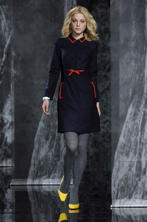 New York Fashion Week Coverage Fall 2007 Carolina Herrera by Hilfiger Fall 2007 Runway Pictures Livingly