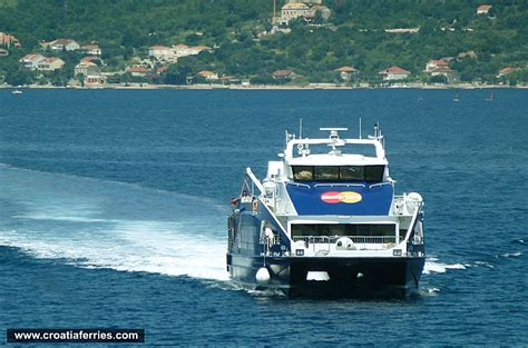 catamaran ferry split korcula catamaran ferry vida jadrolinija croatia ferries