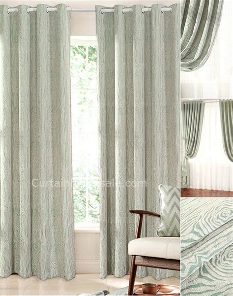 sage green curtains simple modern blackout curtains sage green chenille fabric