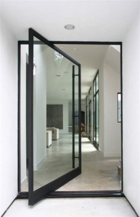 Glass Door For Home Impress Your Guests And Increase The Entryway Appeal With Pivot Doors