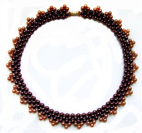 free beading patterns seed free pattern for necklace seed bead tutorials