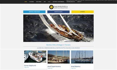 sito vendita sito per noleggio e vendita barche a vela sosseo