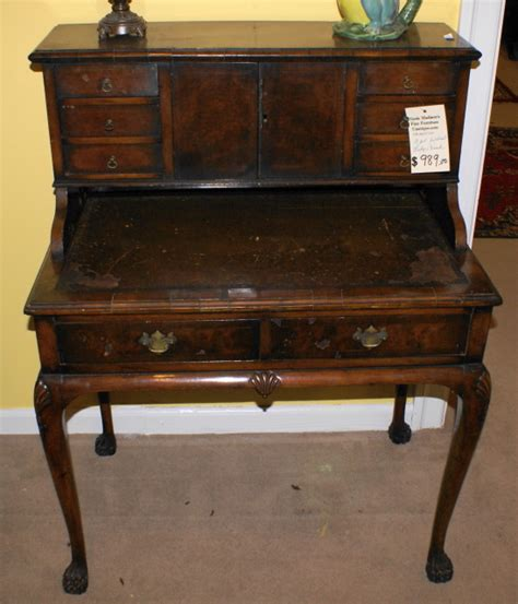vintage queen anne desk antiques com classifieds antiques 187 antique furniture