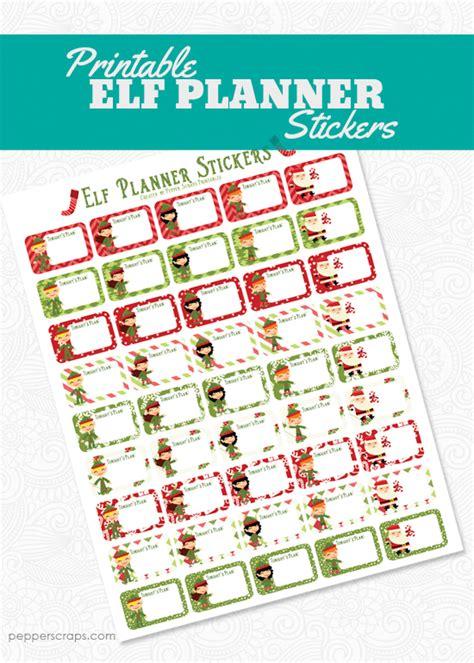 printable elf on the shelf planner printable elf on the shelf planner pepper scraps