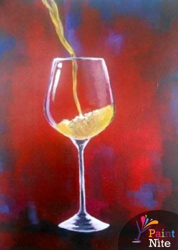 paint nite wine glasses wisconsin dells paint nite what to do in the dells