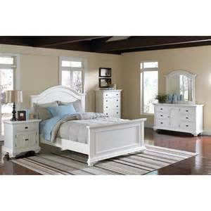 Elements Bedroom Furniture Elements International Brook White Panel Bedroom Set White Finish The Simple Stores
