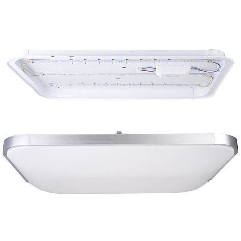 Flush Mount Kitchen Light Led Ceiling Light Flush Mount Fixture L Bedroom Kitchen Lighting 24w 36w 48w Ebay