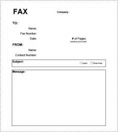 Fax Cover Sheet Pdf by Basic Fax Cover Sheet Pdf Besttemplates123