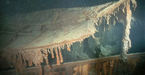 titanic boat history collapsed boat deck titanic before and after pictures