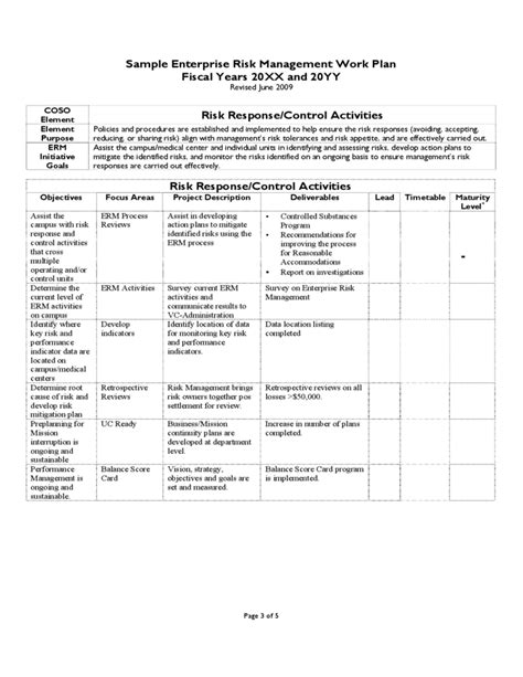 Enterprise Risk Assessment Template Pictures To Pin On Pinterest Pinsdaddy Erm Risk Assessment Template