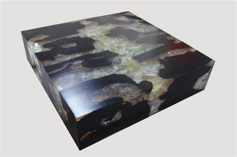 Cracked Resin Coffee Table Agb1 Andrianna Shamaris