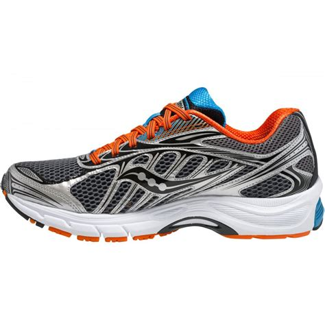 orange running shoes ride 6 road running shoes grey orange blue mens at