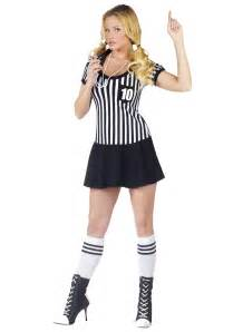 Halloween Decorations Made At Home womens racy referee costume
