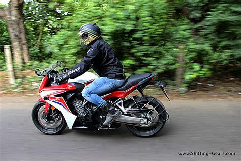honda cbr 650 2012 honda cbr650f test ride review shifting gears