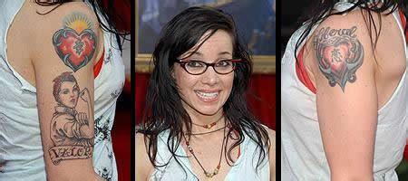 janeane garofalo tattoo pics photos of her tattoos