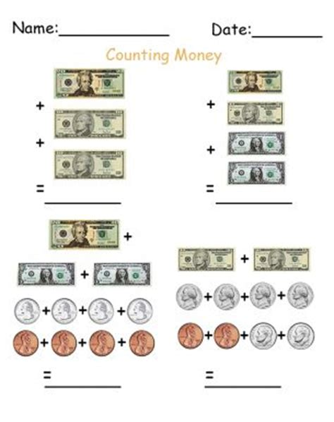 best sheets for the money best sheets for the money counting money worksheets 1st grade money pinterest 17 best images