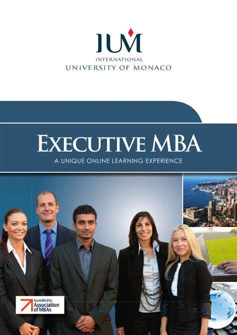 Executive Mba In The Us by Ium Executive Mba By O Et D Issuu
