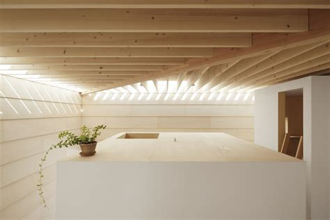 interior house lighting uniformly lit living environment the light walls house in japan freshome com
