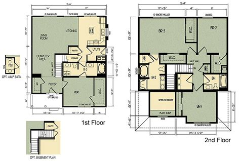 michigan modular home floor plan 104 layout home