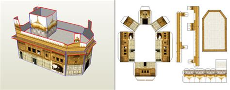 How To Make 3d Models Out Of Paper - sikhnet discussion forum view topic free 3d model of