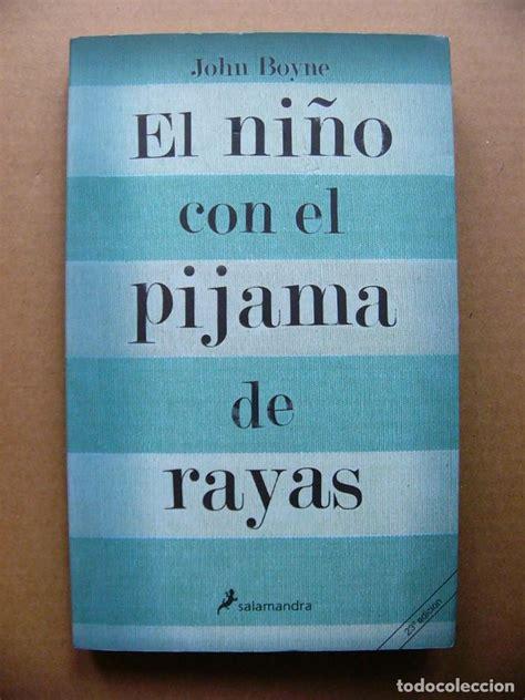 libro el nio con el libro el ni 241 o con el pijama de rayas john boy comprar en todocoleccion 82367504