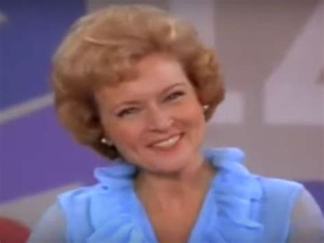 Small And Imperfectly Formed Saved By Betty by Betty White Images