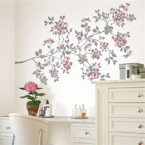 Wall Stickers Cherry Blossom cherry blossom wall decals rosenberryrooms com