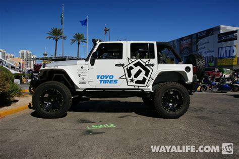 jeep jk white 2014 sema caliretrofits white jeep jk wrangler unlimited