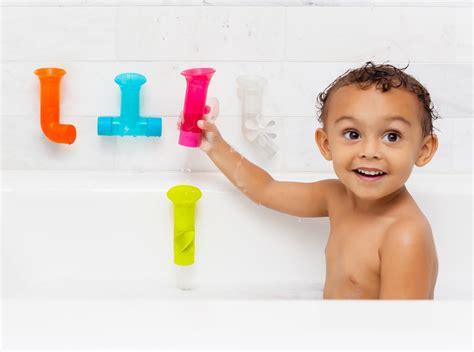 bathtub for 1 year old boon pipe building bath toy