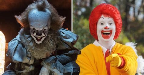 I Think Ronald Mcdonald Should Retire by Russian Burger King Want It Banned As Pennywise Copy Of