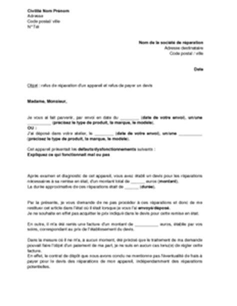 Modèle De Lettre De Refus De Demande D Emploi Application Letter Sle Exemple De Lettre De Demande D Un Devis Pour Travaux