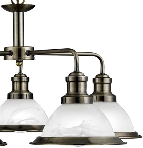 antique brass kitchen lighting bistro retro antique brass 5 l chandelier or kitchen