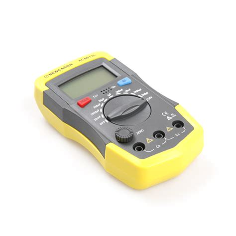 capacitor test tool new digital diaplay meter capacitance capacitor tester test tools w probes