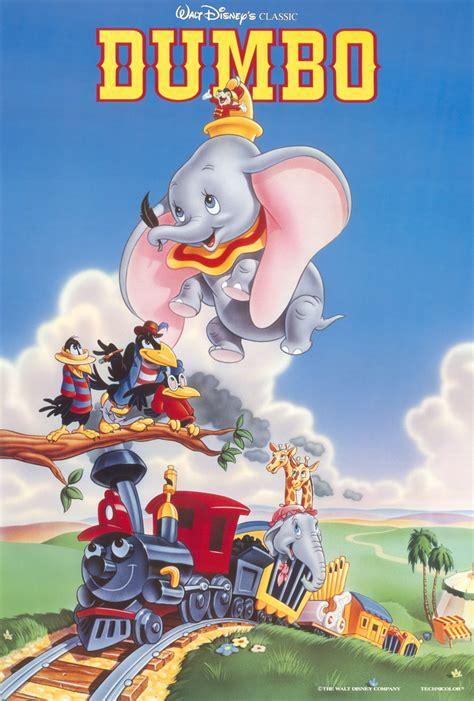 dumbo l elefantino volante dumbo poster 2 sided original nm 1992 re release