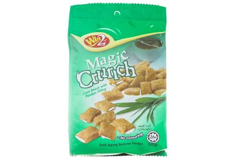 Snack Cho Cho Crunch b 225 nh snack bắp magic crunch nh 226 n kem l 225 dứa b 225 nh snack