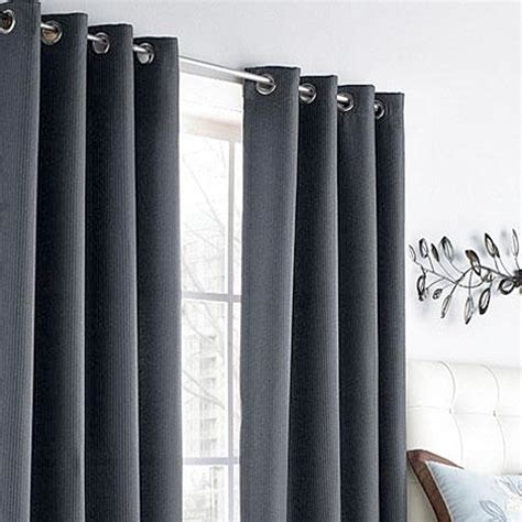dark grey blackout curtains accessories
