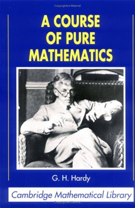a course of mathematics by g h hardy reviews