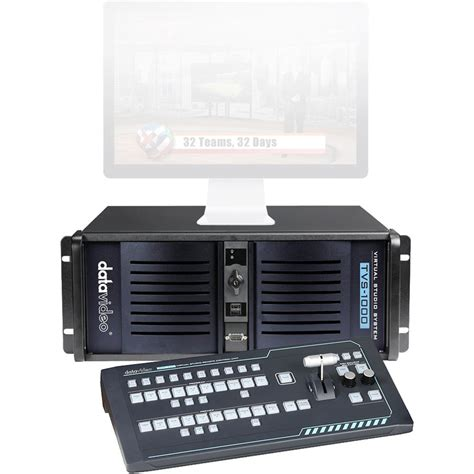 studio system datavideo tvs 1000 trackless virtual studio system tvs