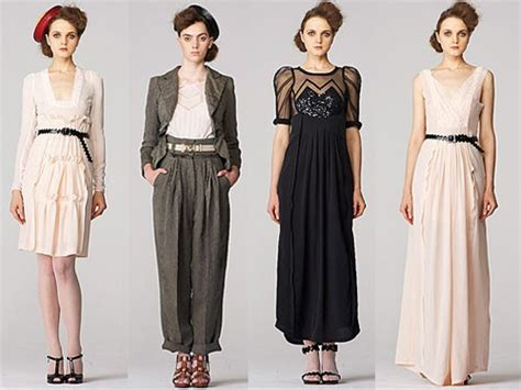 vintage clothing for the vintage and antique style